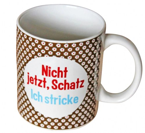 Becher Stricken Mug
